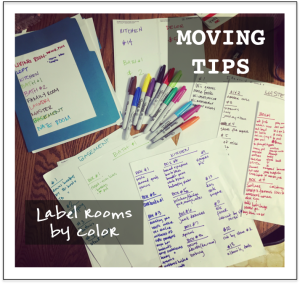 MovingTipsLabelRooms